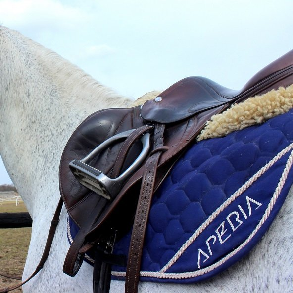 siodło na koniu